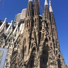 Barcelona, Spain - Sagrada Familia in Barcelona, Spain