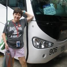Chichen itza excursion bus