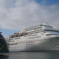 Nassau, Bahamas - Disney Dream, Carnival Sensation & Carnival Ecstasy