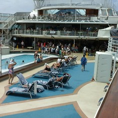 Riviera Pool on Sun Princess