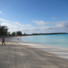 Half Moon Cay, Bahamas (Private Island) - Beach view