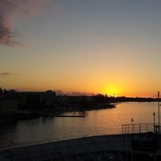 Sunset at Nassau
