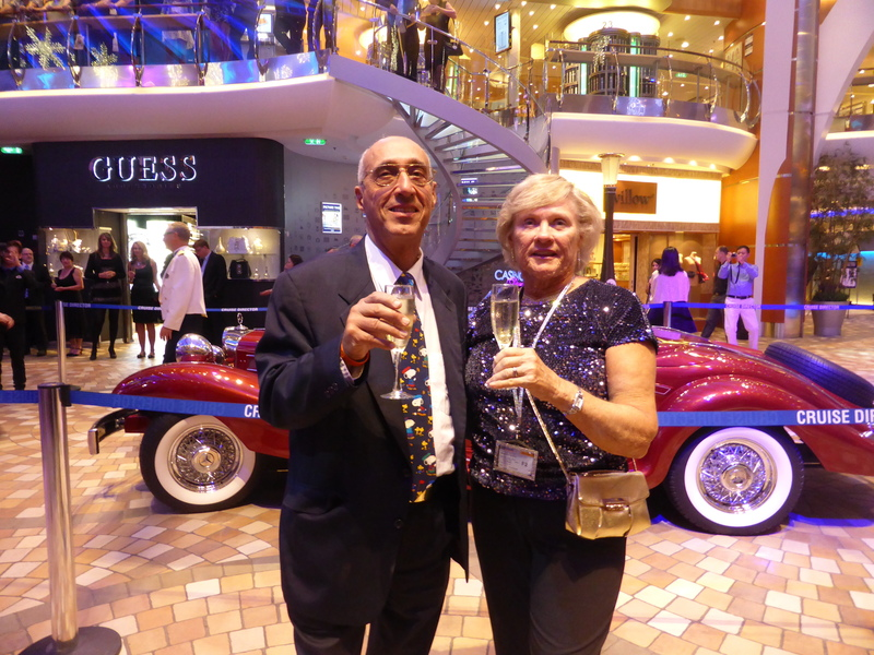 Capt. Champagne Party - Allure of the Seas