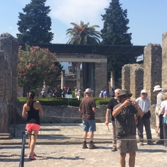 Naples, Italy - Ruins at Pompeii, Italy