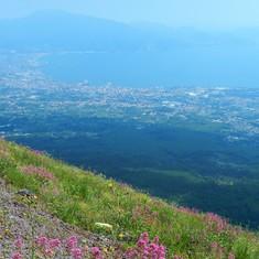 Mt.Vesuvius View to Sorrento