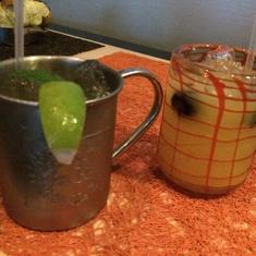 Cocktails at Qsine