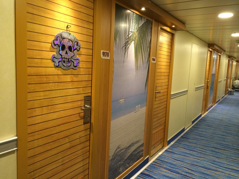 Decorated doors - Carnival Sunshine