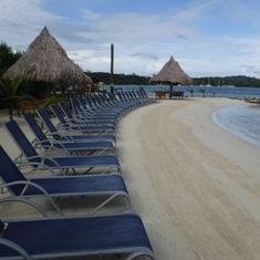 Beautiful beach at Little French Key