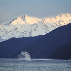 Glacier Bay Cruise Ship