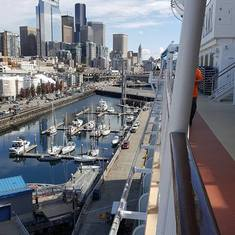 View of Seattle from Ship