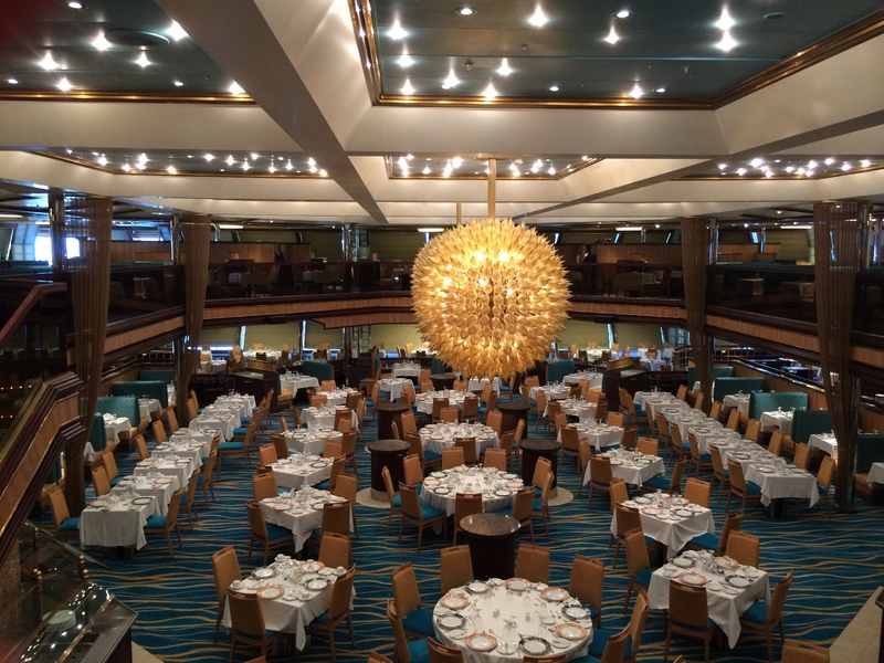 Sunrise Main Dining Room - Carnival Sunshine