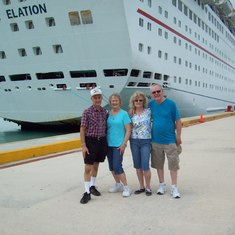 Heading to Cosumel
