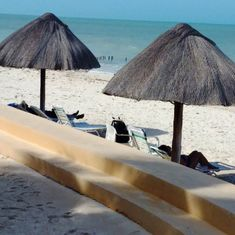 Beach at Progreso