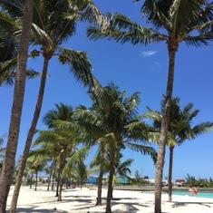 Nassau, Bahamas - Beach in Nassau