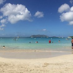 Rhymers Beach in Tortola