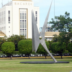 Bacardi Tour - Sculpture