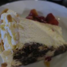 Amazing dessert at the coffee shop!