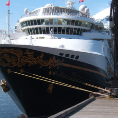cruise on Disney Wonder to Alaska