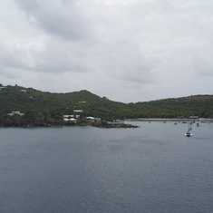 Docking in St. Thomas