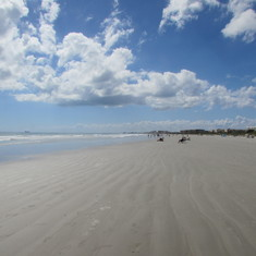 Beach at Cape Canaveral