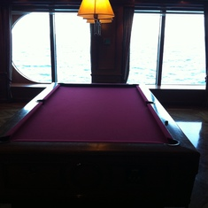 Radiance of the Seas Pool Tables