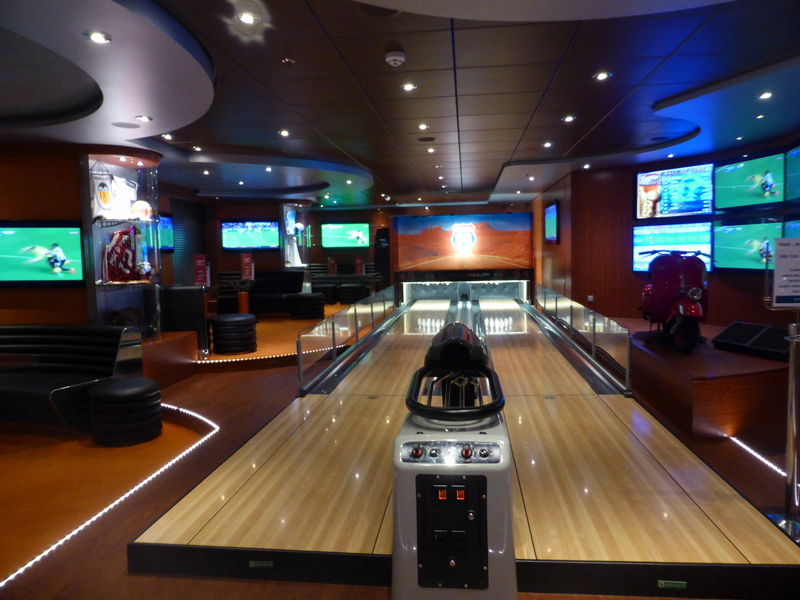 Bowling Alley - MSC Divina