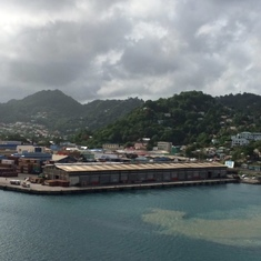 Castries, St. Lucia - Leaving Port