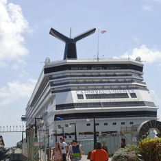 Carnival Liberty in St. Kitts