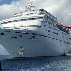 Picture of The Sensation on port of Cayman
