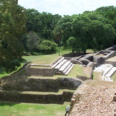 Belize City, Belize - Ruins at Altun Ha