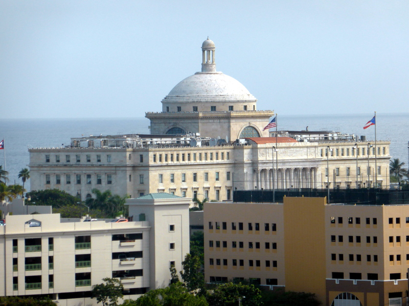 SAn Juan From Ship - Carnival Dream