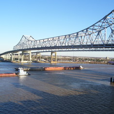 Twin spans New Orleans