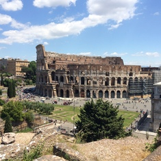 The Colosseum--Rome, Italy