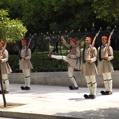 The Palace Guards in Athens