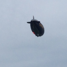Goodyear Blimp over Lauderdale By the Sea