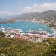 St. Thomas sky lift