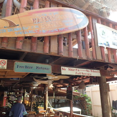 Roatan (Isla Roatan), Bay Islands, Honduras - Cannibal Cafe