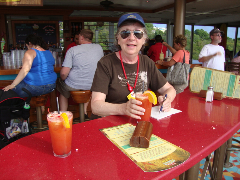 Red Frog Rum Bar on ship - Carnival Liberty