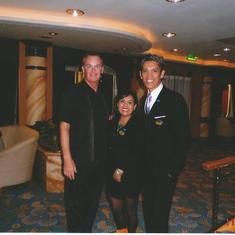 Staff of the Golden Princess