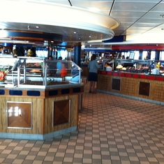 Radiance of the Seas Buffet
