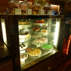 Celebrity Constellation - Cake selection in Cafe al Bacio