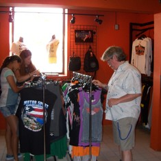 Harley Davidson store.