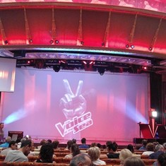 Voice of the Sea competition on the ship - dont miss auditions on the 1st day