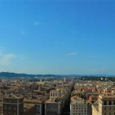 Rome Panorama Skyline