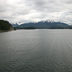 Cruising near Icy Strait Point