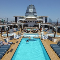 Celebrity Constellation - Pool desck