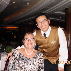 Linda and Waiter