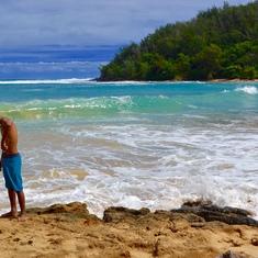 Kauai shore line