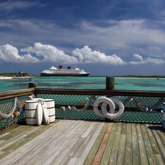 View From Castaway Cay
