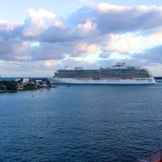 Royal Princess leaving Port Everglades